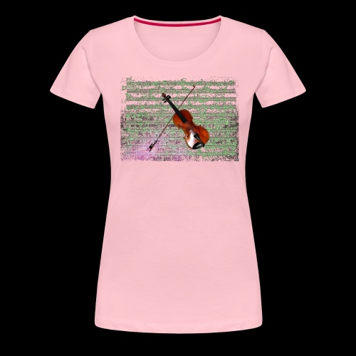 Violin - Women's Premium T-Shirt