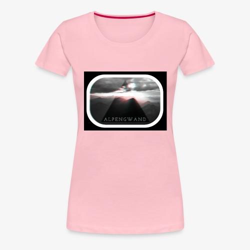zugspitze alpengwand crac - Frauen Premium T-Shirt