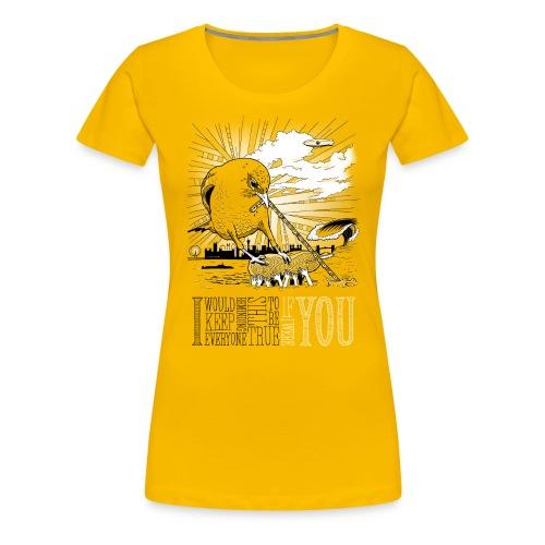 If I Were You - Dame premium T-shirt