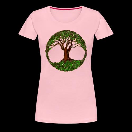 Tree of Life - colour - Women's Premium T-Shirt