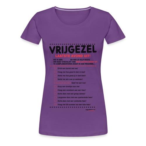 Laatste avond uit vrouw - Vrouwen Premium T-shirt