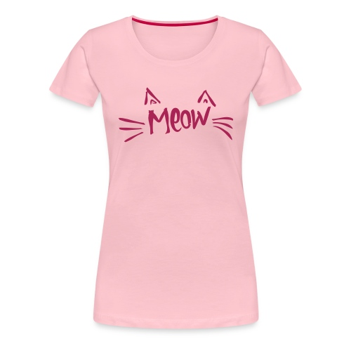 Vorschau: meow2 - Frauen Premium T-Shirt