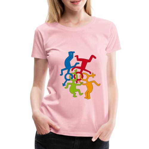 loveislove ris 600 png - Women's Premium T-Shirt