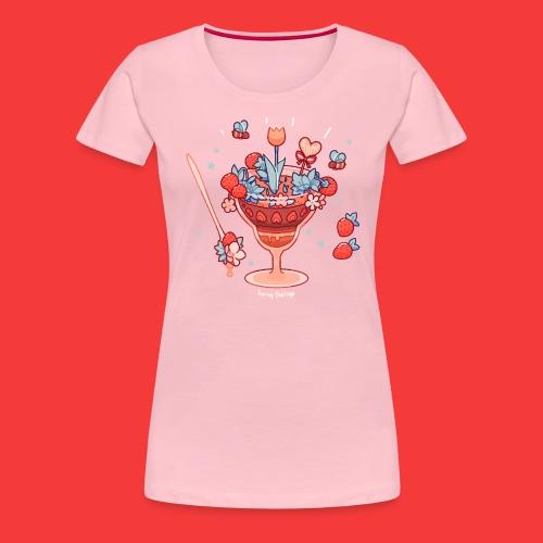 Es frühlingt sehr - Frauen Premium T-Shirt