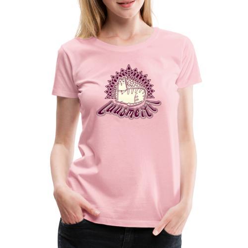 Luusmeitli Shirt   Cartoon Katzen Shirt   Schweiz - Frauen Premium T-Shirt