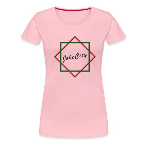 joke city logo - Women's Premium T-Shirt