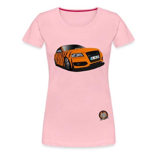 ucorange - Frauen Premium T-Shirt