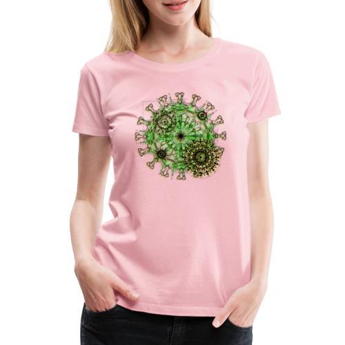 Virus 150220 ds. A - Women's Premium T-Shirt