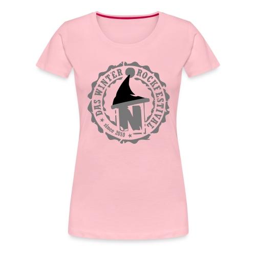 nikolaut2013vintagegrey - Frauen Premium T-Shirt