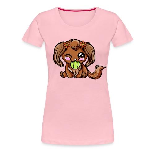Puppy Dog Kawaii - T-shirt Premium Femme
