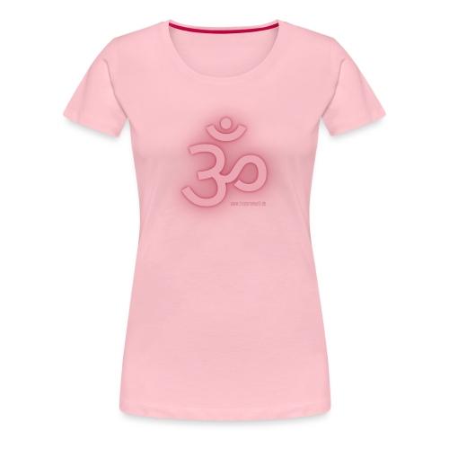 become well OM - Frauen Premium T-Shirt
