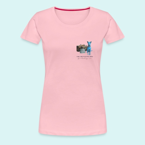 Laly-Blue - Women's Premium T-Shirt