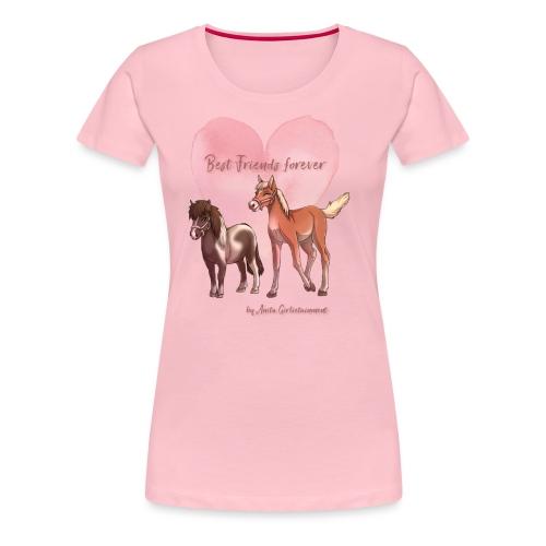 BFF Porzellinchen & Wunschtraum - Frauen Premium T-Shirt