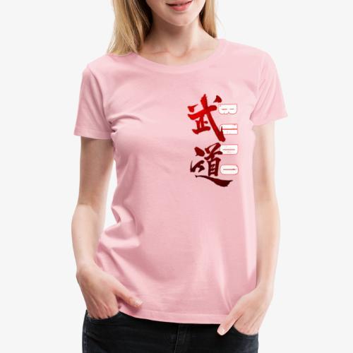 Budo kanji - T-shirt Premium Femme
