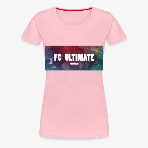 FC Ultimate, Peetholm - Dame premium T-shirt