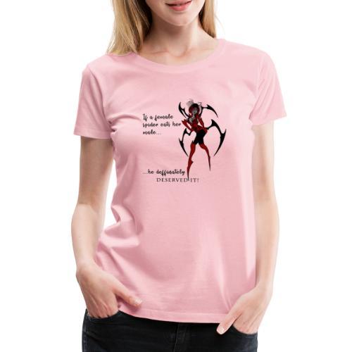 Spiderwoman - Frauen Premium T-Shirt