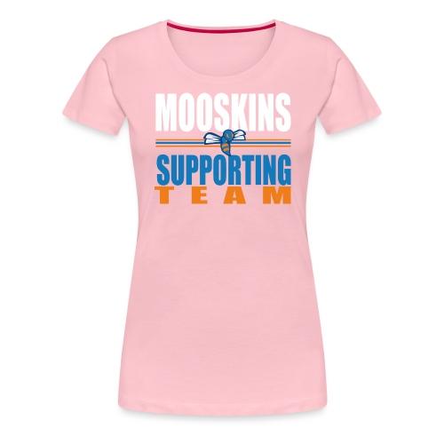 Mooskins supporting team - Maglietta Premium da donna