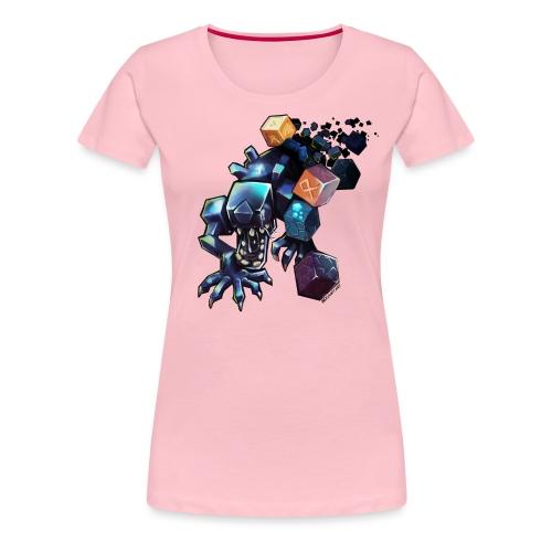 BDcraft Alien - Women's Premium T-Shirt