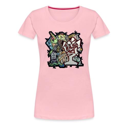 Connections - Women's Premium T-Shirt