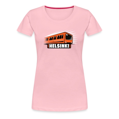 Helsinki Metro T-Shirts, Hoodies, Clothes, Gifts - Naisten premium t-paita