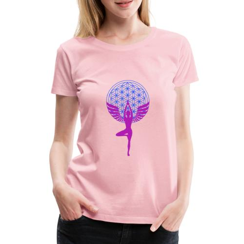 fleur de vie yoga n°1 - T-shirt Premium Femme