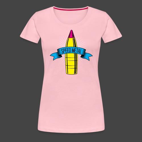 speedmetal cmyk - Frauen Premium T-Shirt
