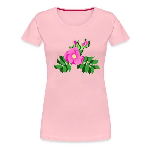 Wildrose - Frauen Premium T-Shirt