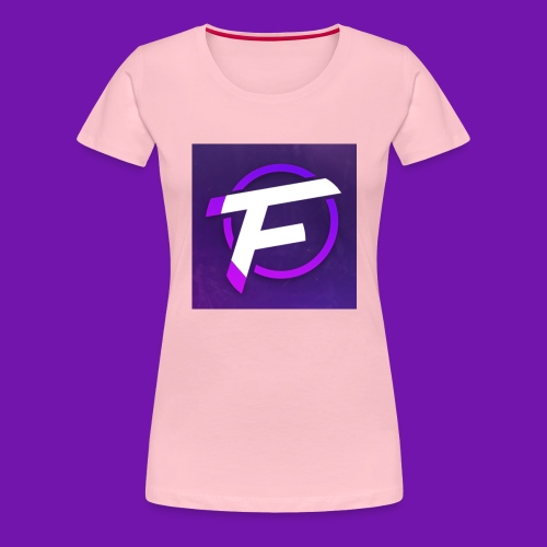 Flux Clan Logo - Women's Premium T-Shirt
