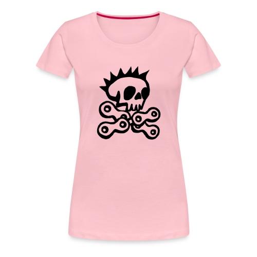 Radpiraten Logo Transpare - Frauen Premium T-Shirt
