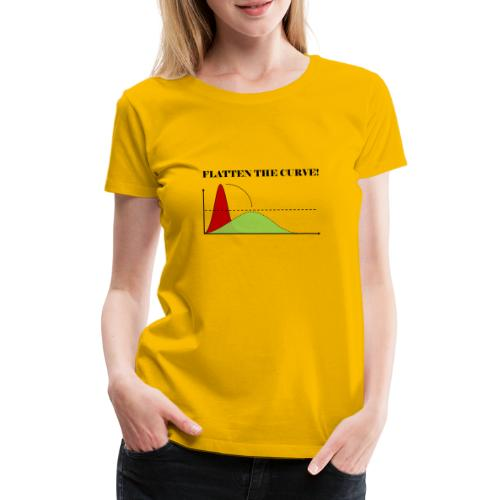 Flatten the curve - Women's Premium T-Shirt