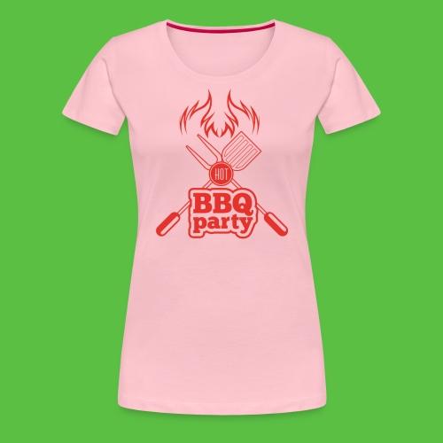 BBQ Party - Frauen Premium T-Shirt