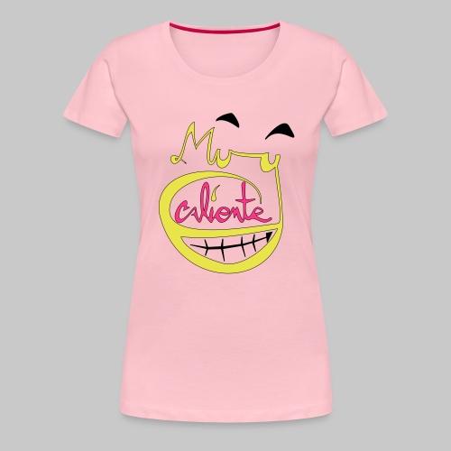 MuycalienteLogo - Frauen Premium T-Shirt
