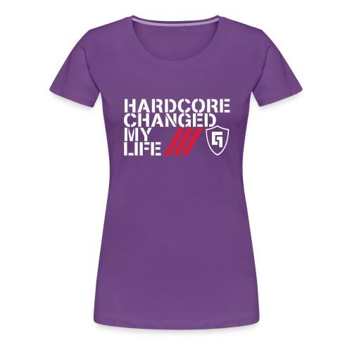 HC Changed My Life - Women's Premium T-Shirt