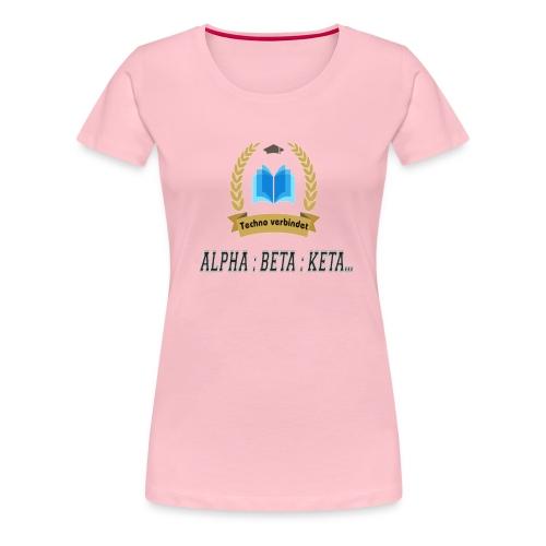 Techno verbindet - Frauen Premium T-Shirt
