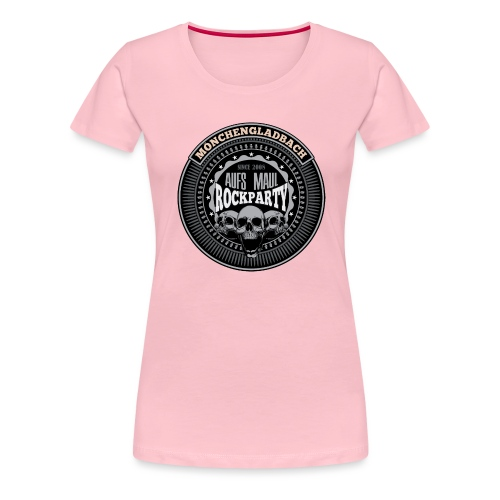 Aufs Maul Rockparty Seal - Frauen Premium T-Shirt