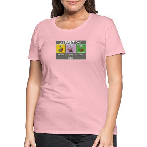 A Perfect Day Halmi - Comic - Frauen Premium T-Shirt