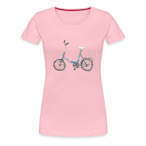 Klapprad - Frauen Premium T-Shirt
