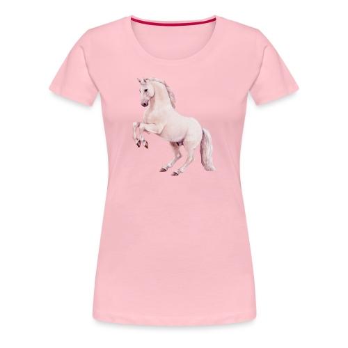 White stallion - Frauen Premium T-Shirt