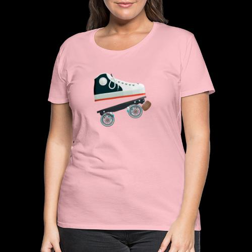 Detachable quad skates - T-shirt Premium Femme