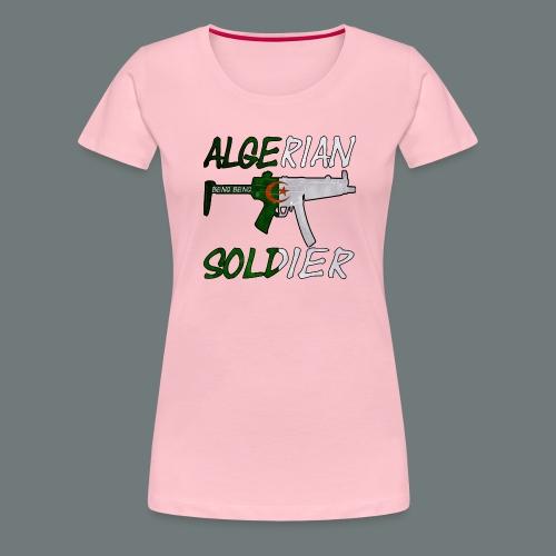 Algerian Soldier Trui (Heren) - Vrouwen Premium T-shirt