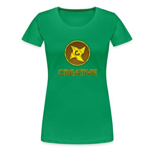Creative logo shirt - Dame premium T-shirt
