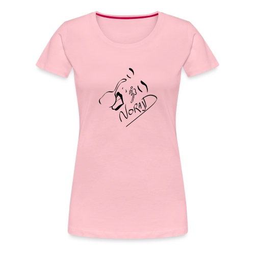 Giclé - T-shirt Premium Femme