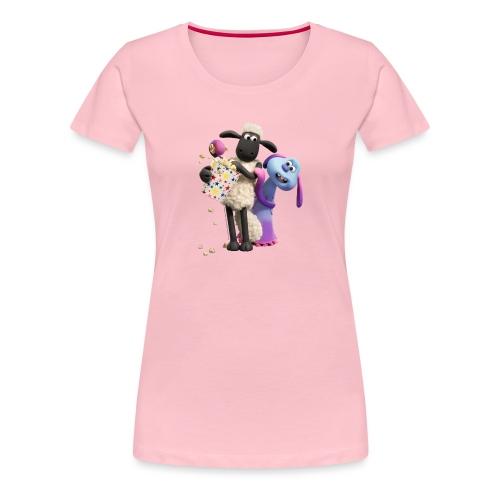 Shaun das Schaf Farmageddon Shaun und Lula - Frauen Premium T-Shirt