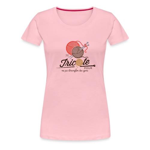 Tricot - T-shirt Premium Femme