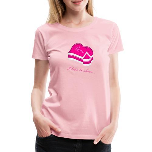 love cake - Frauen Premium T-Shirt