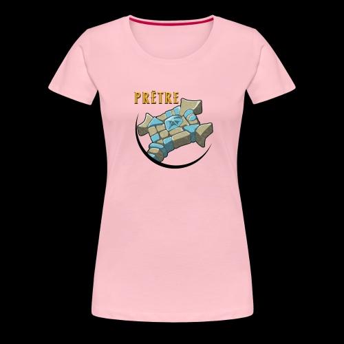 Geek prêtre - T-shirt Premium Femme