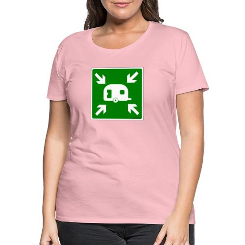 Meeting Point Caravan - Frauen Premium T-Shirt