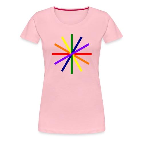 Glücksrad 21.1 - Frauen Premium T-Shirt