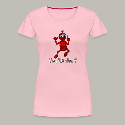 Back to 80's - T-shirt Premium Femme