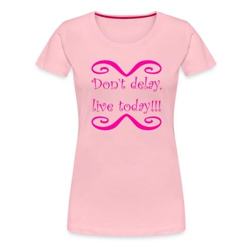 Carpe Diem 21.1 - Frauen Premium T-Shirt